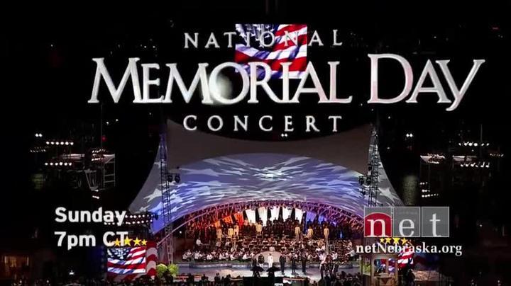 National Memorial Day Concert Sun 7p CT