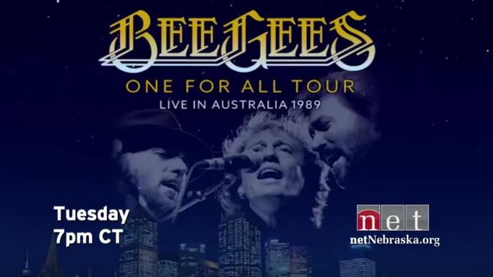 Bee Gees One for All Tour Australia Tues 7p