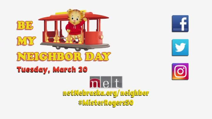Be My Neighbor Day March 20 2018