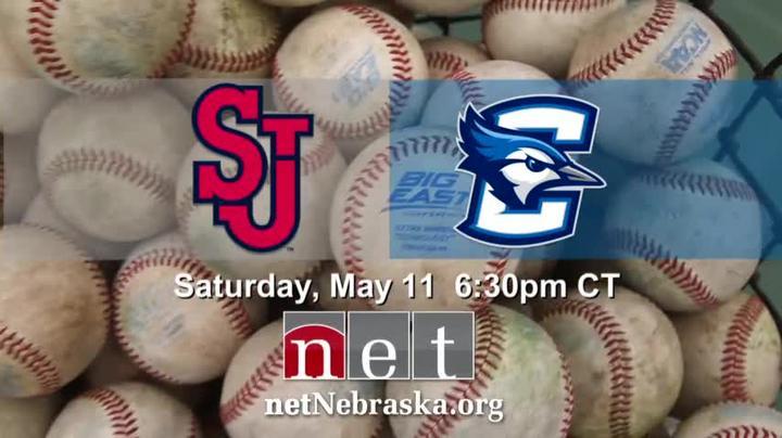 Collegiate Baseball St John's vs Creighton Saturday  6:30pm
