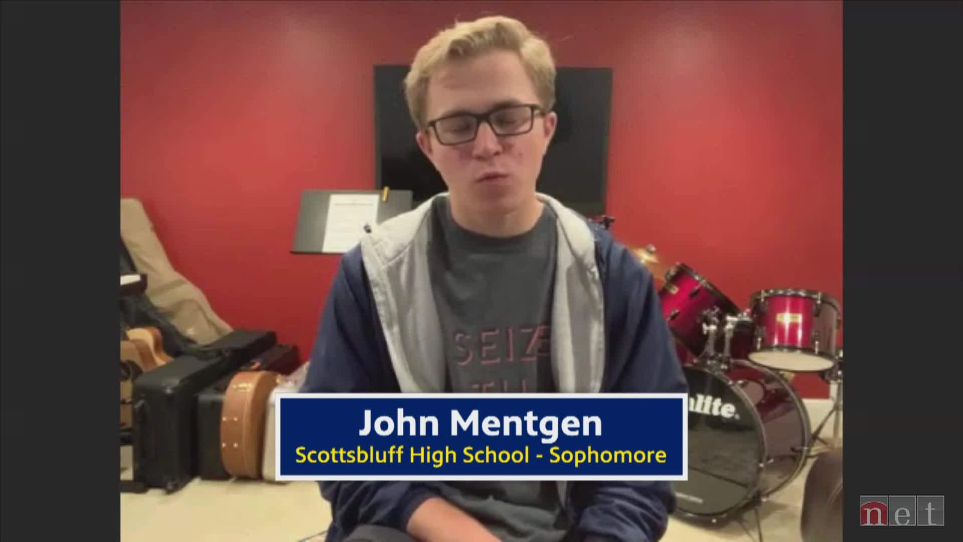 Class of 2020 John Mentgen